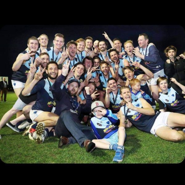2019 Southern Football League Premiers Lindisfarne Football Club